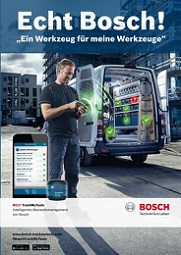 BOSCH Track my Tools
