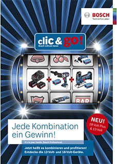 Bosch Clic And Go